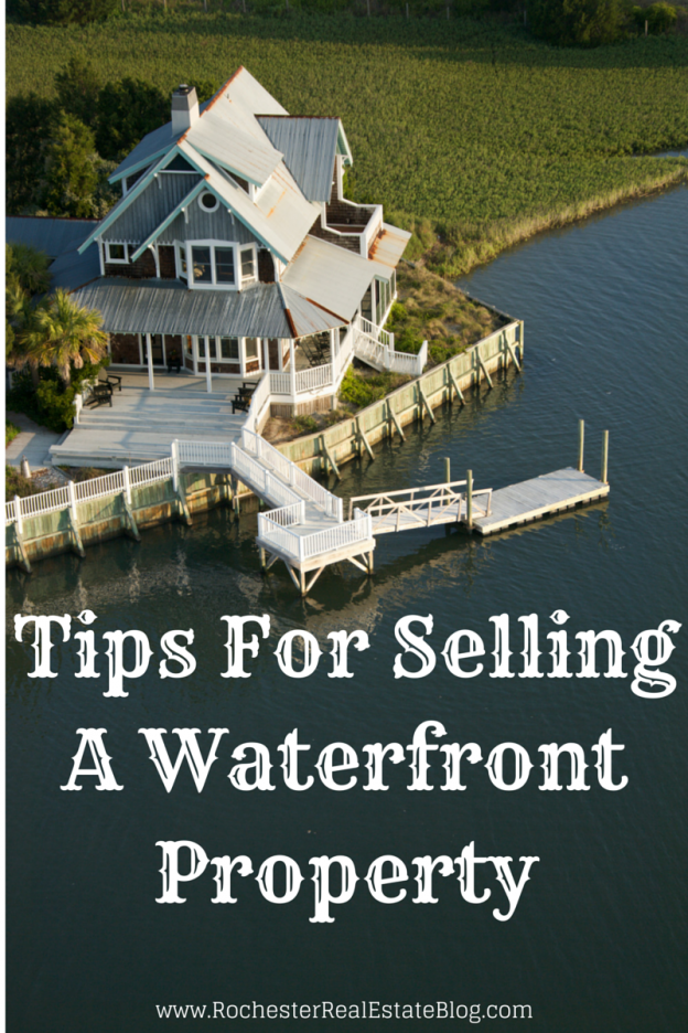 Valuable Tips for Selling a Waterfront Property
