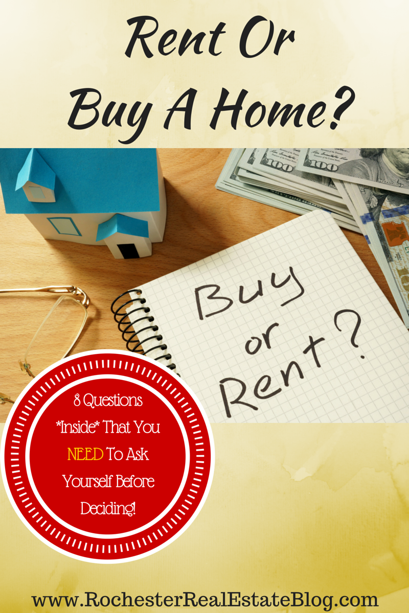 Should I Continue To Rent Or Buy A Home - 8 Questions That You NEED To Ask Yourself Before Deciding!