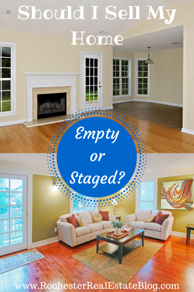 Should I Sell My Home Empty or Staged