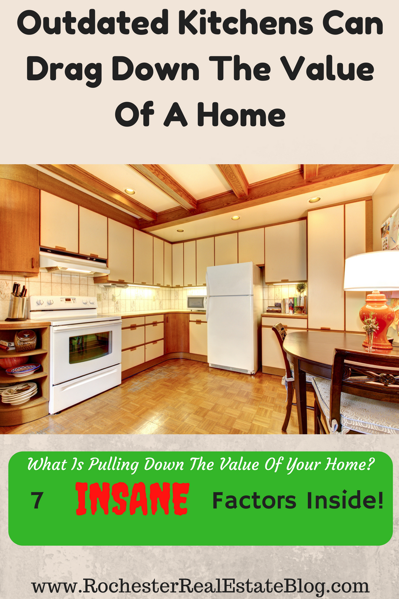 Outdated Kitchens Can Drag Down The Value Of A Home