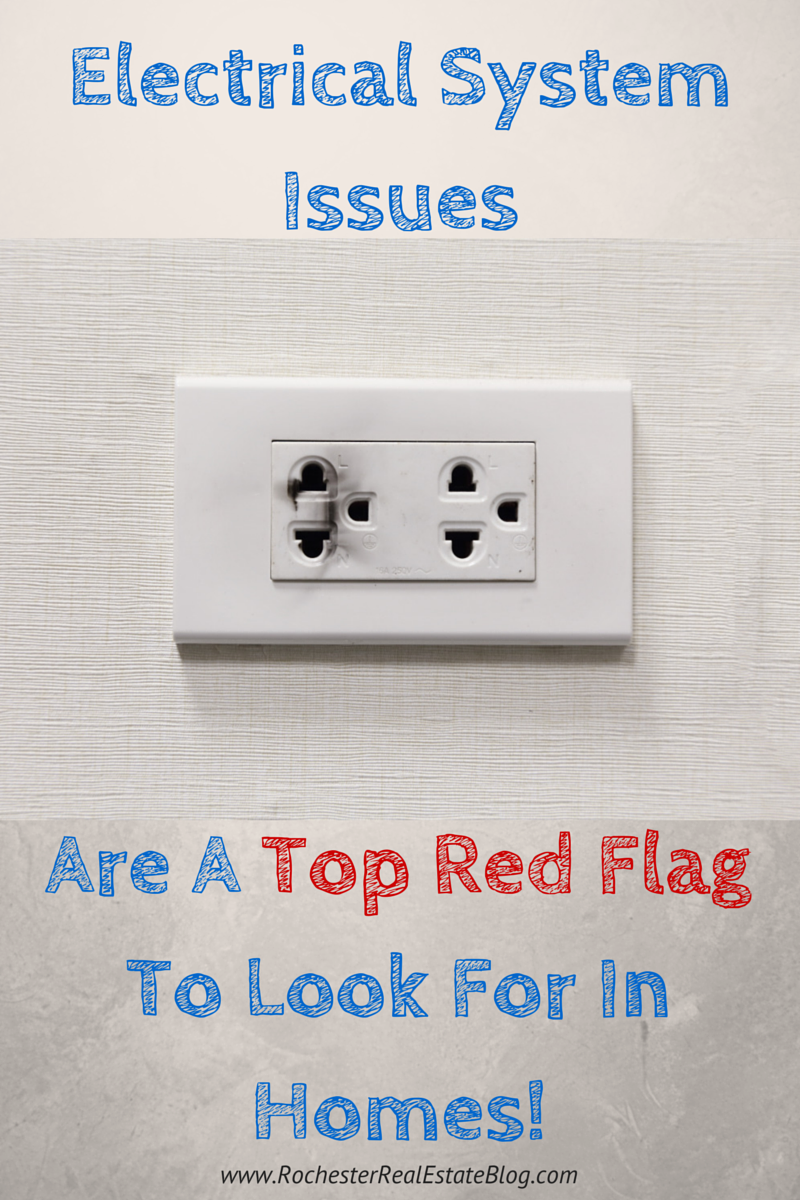 Electrical System Issues Are A Top Red Flag To Look For In A Home!