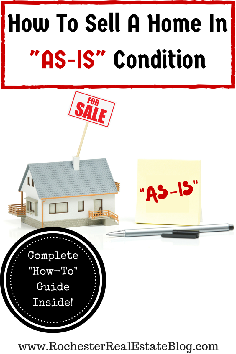 How To Sell A Home In AS-IS Condition