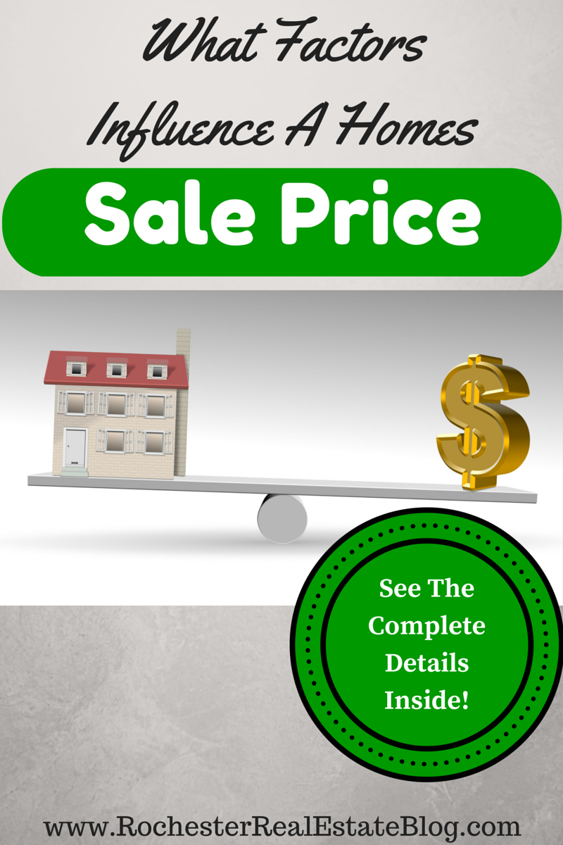 What Factors Influence The Sale Price Of A Home