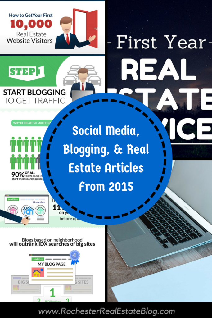 Social Media, Blogging, & Real Estate Articles From 2015