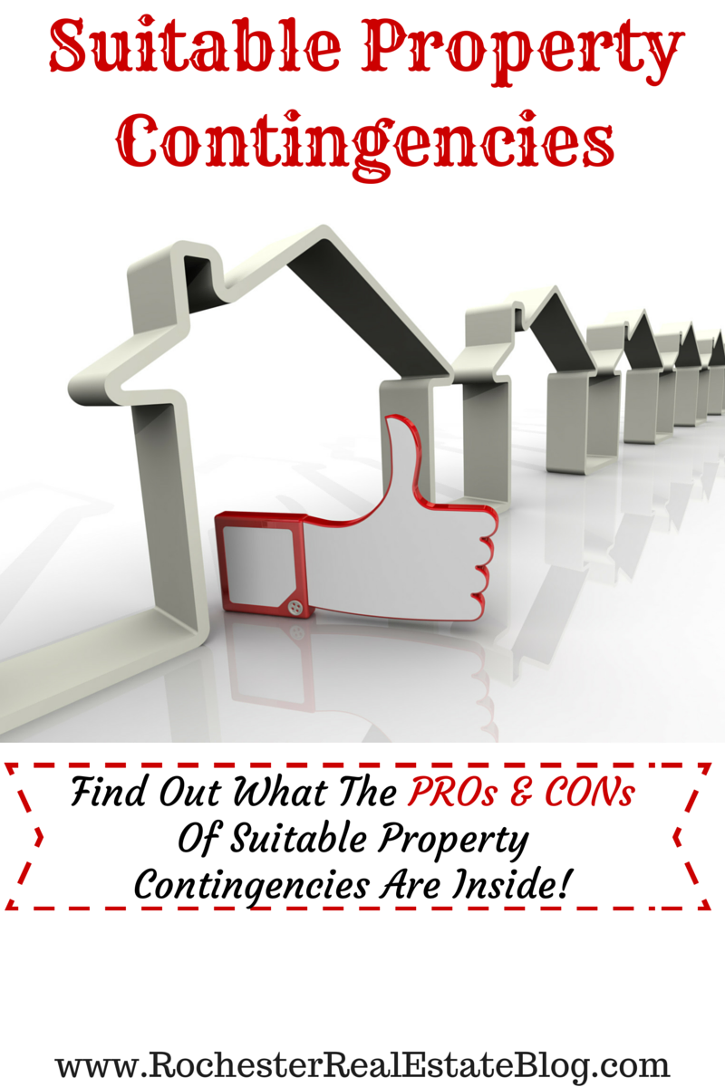 PROs & CONs Of Suitable Property Contingencies In Real Estate