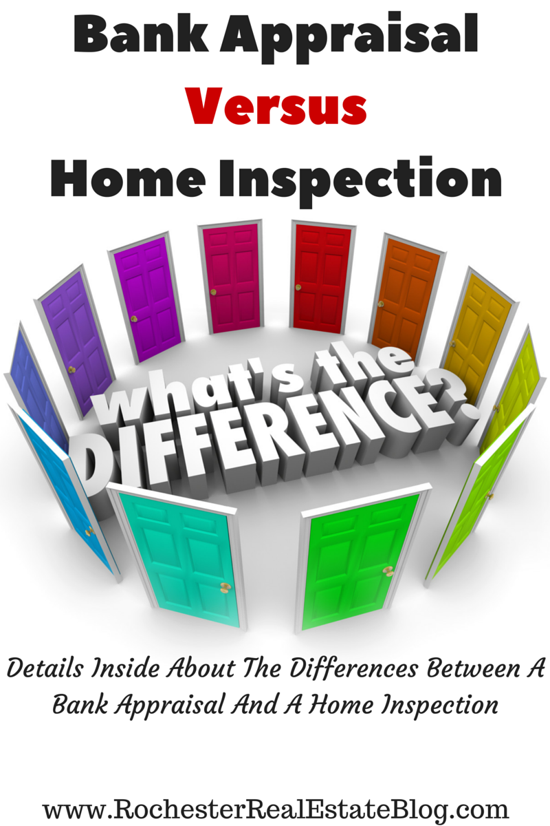 What Are The Differences Between A Bank Appraisal And A Home Inspection