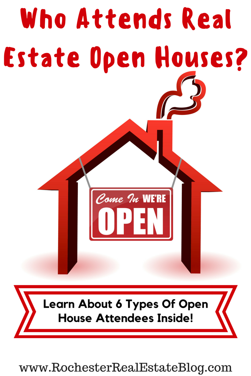 What Type Of People Attend Real Estate Open Houses