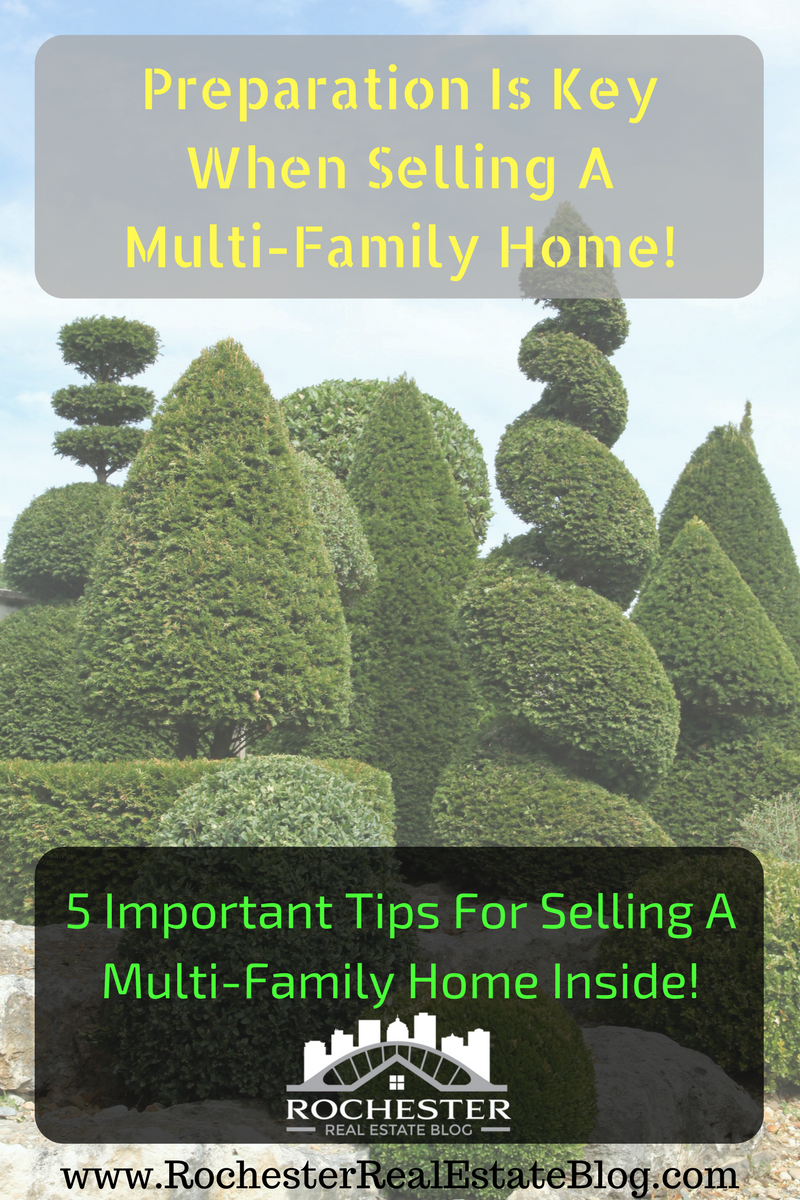 Preparation Is Key When Selling A Multi-Family Home