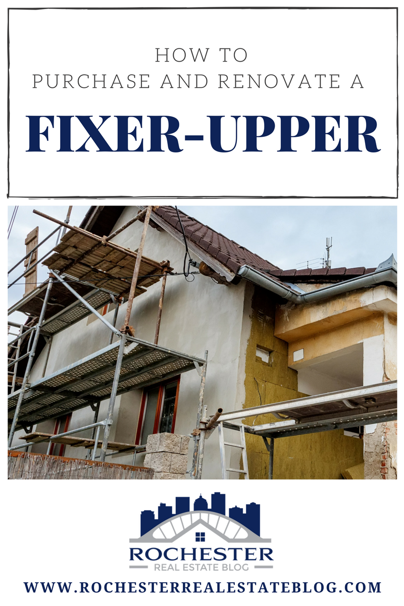 How To Purchase & Renovate A Fixer-Upper