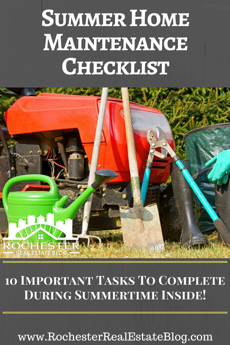 Summer Home Maintenance Checklist & Tips For Your Home
