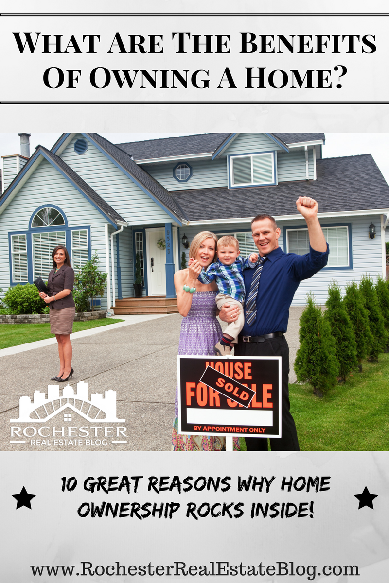 What Are The Benefits Of Owning A Home?