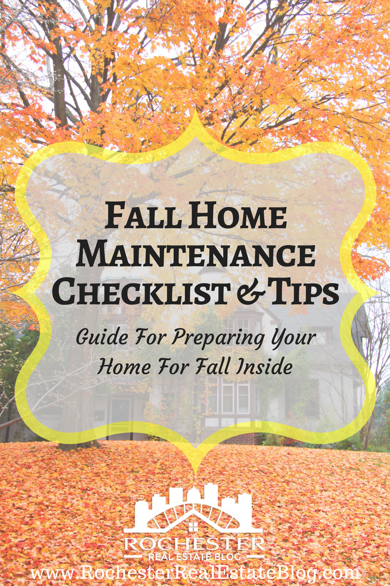 Fall Home Maintenance Checklist Tips Preparing Your