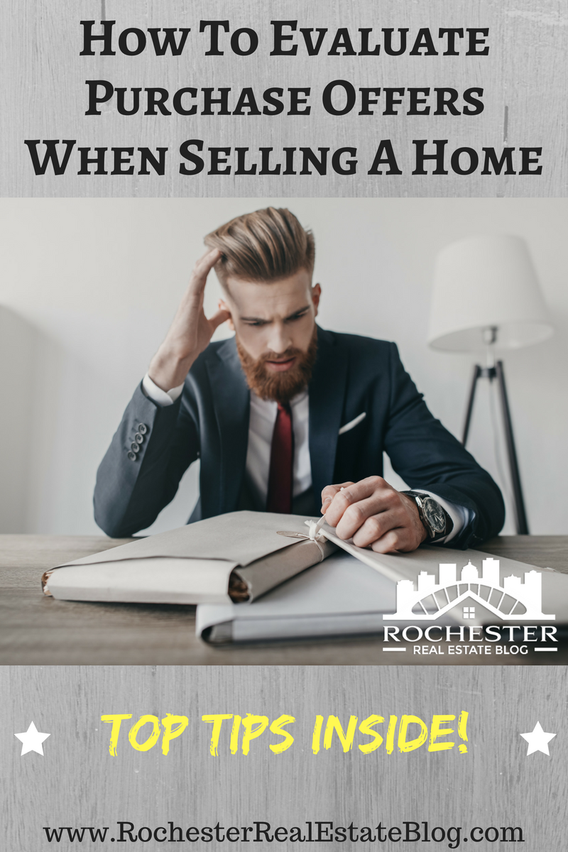 How To Evaluate Purchase Offers When Selling A Home