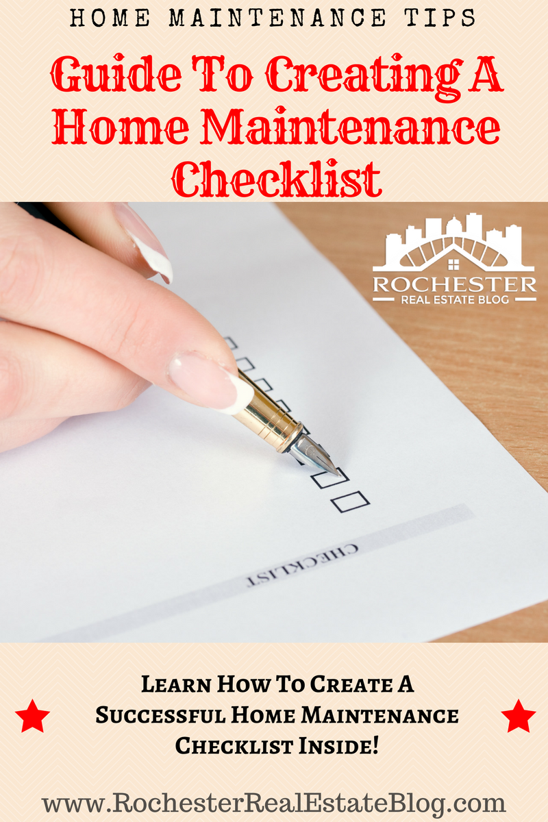 How to Create a Proper Home Maintenance Checklist