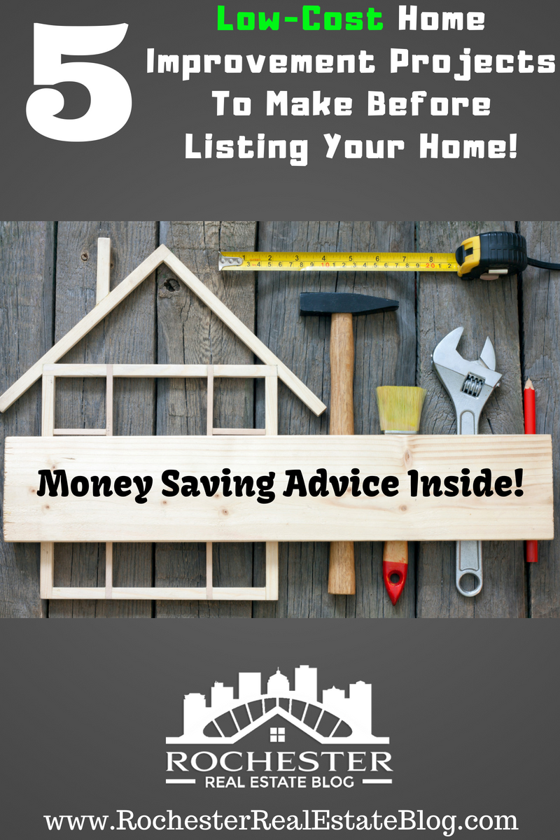 5 Low-Cost Home Improvement Projects To Make Before Listing Your Home