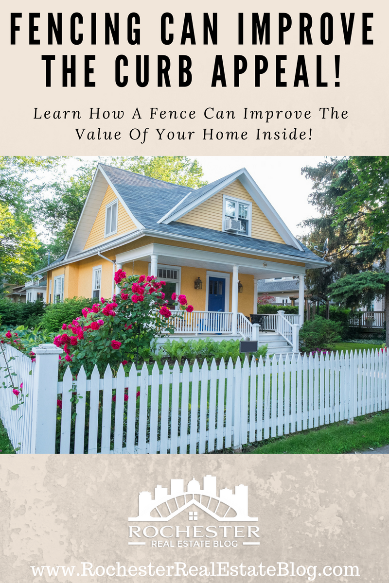 Fencing Can Improve The Curb Eal Learn How Increase Value Of Your
