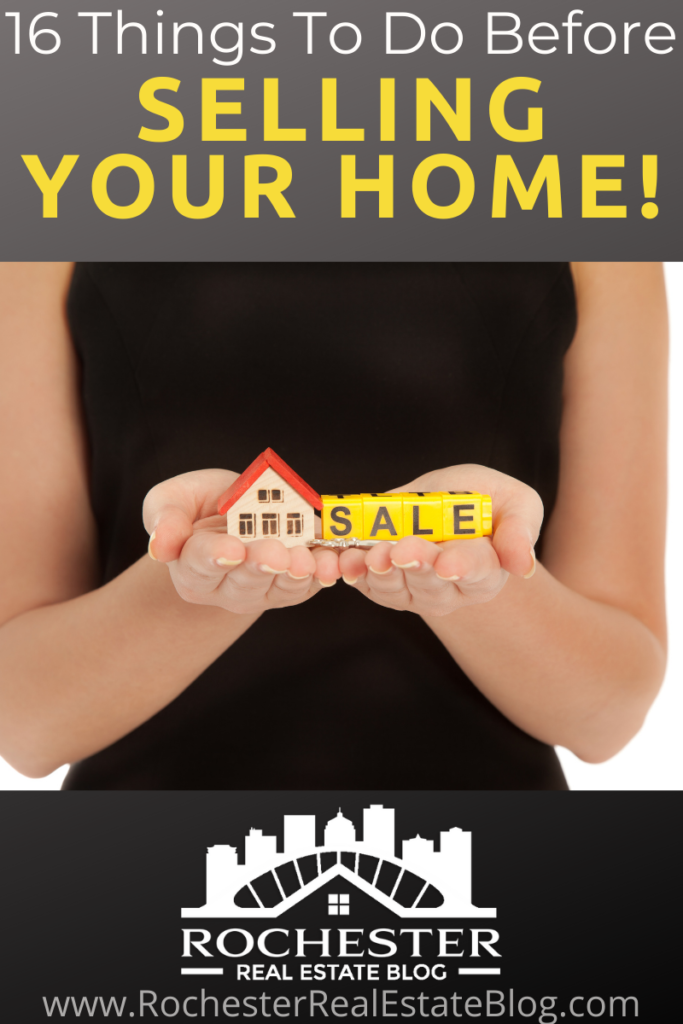 16 Things To Do Before Selling Your Home